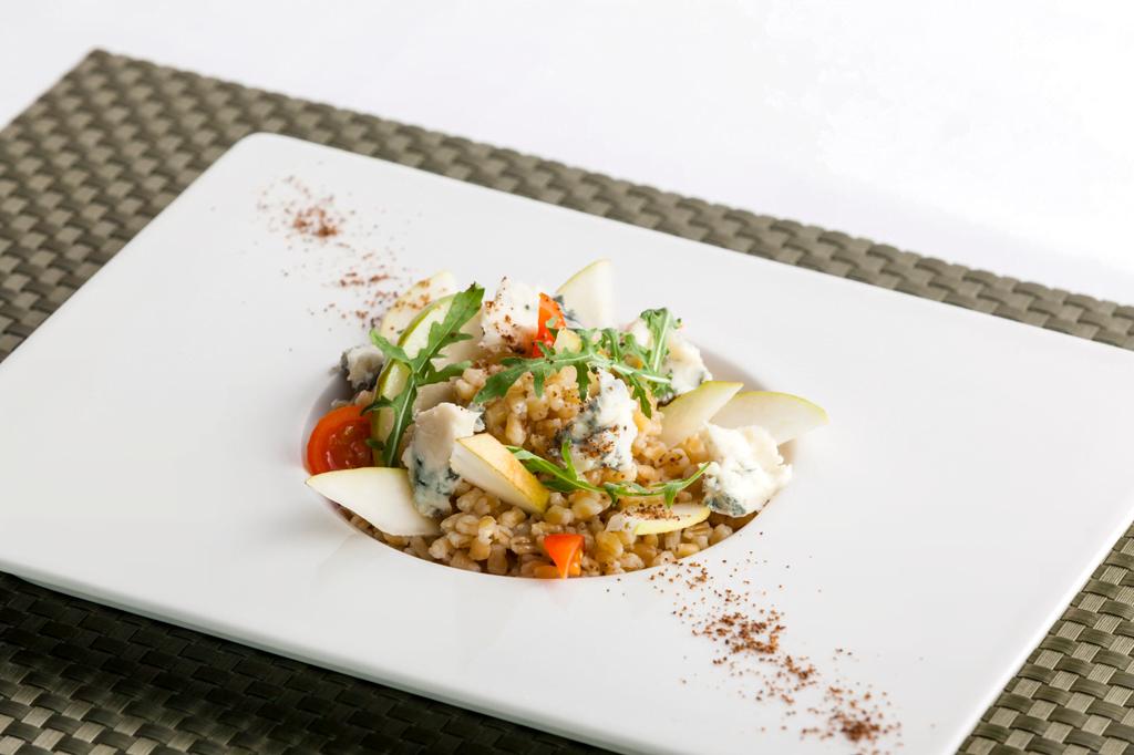 Spaldovy salat s hruskami a gorgonzolou 1