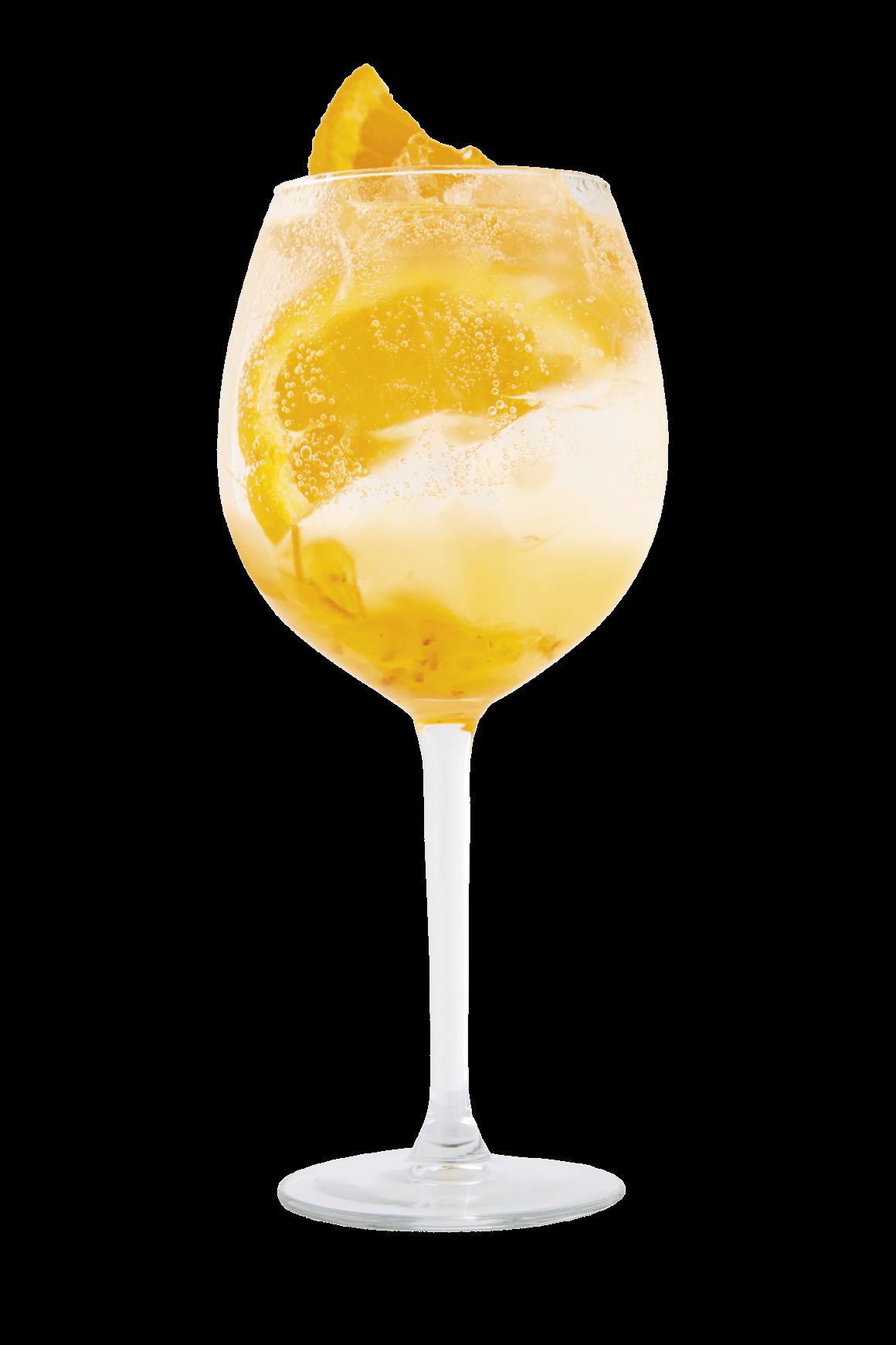 triple orange gin tonic