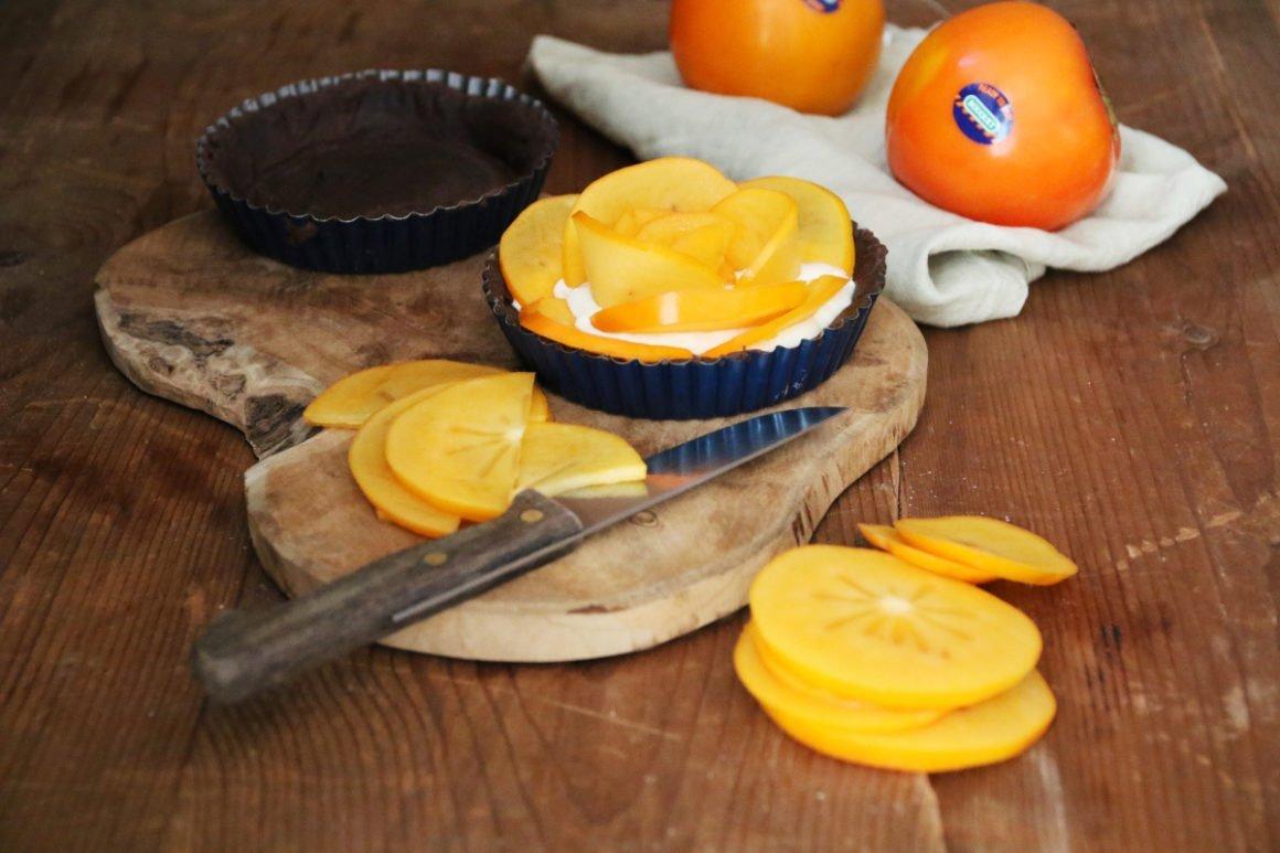 Křehký koláč s kaki 2