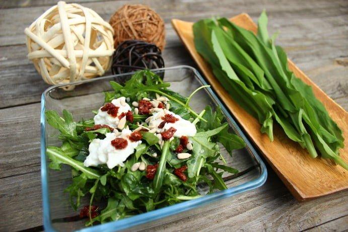 NATURHOUSE rukolový salát medvědí česnek 3