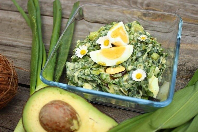 NATURHOUSE vajíčkový salát medvědí česnek 1