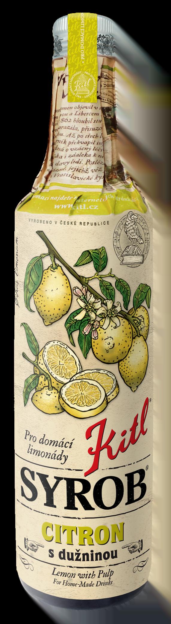 kitl syrob citron 500ml