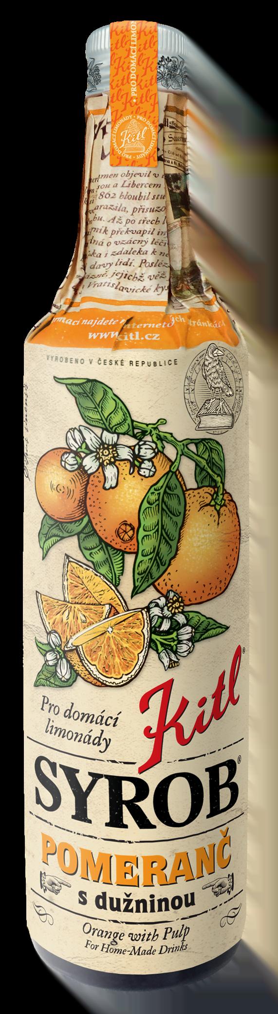 kitl syrob pomeranc 500ml
