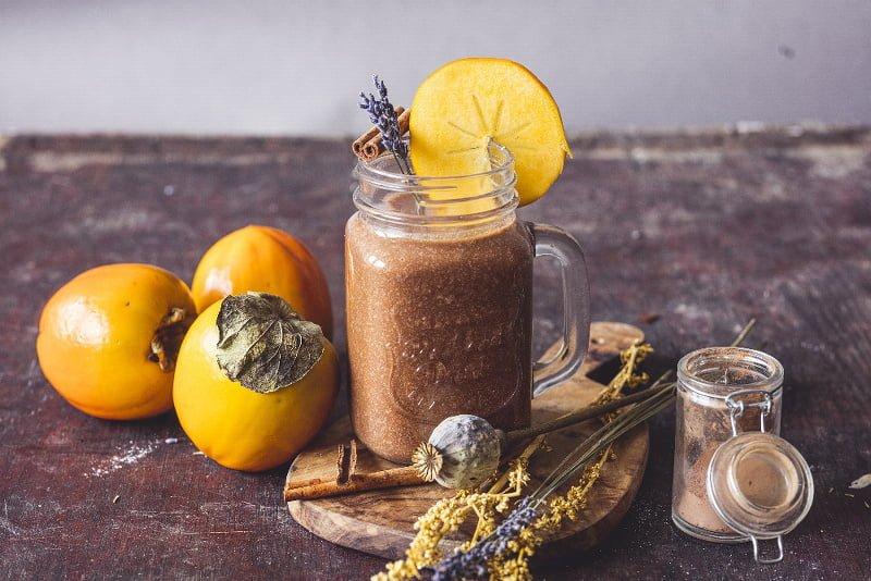 Podzimní kakao s kaki 2