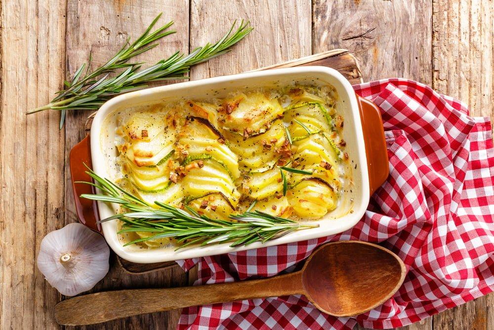 Gratinovane brambory